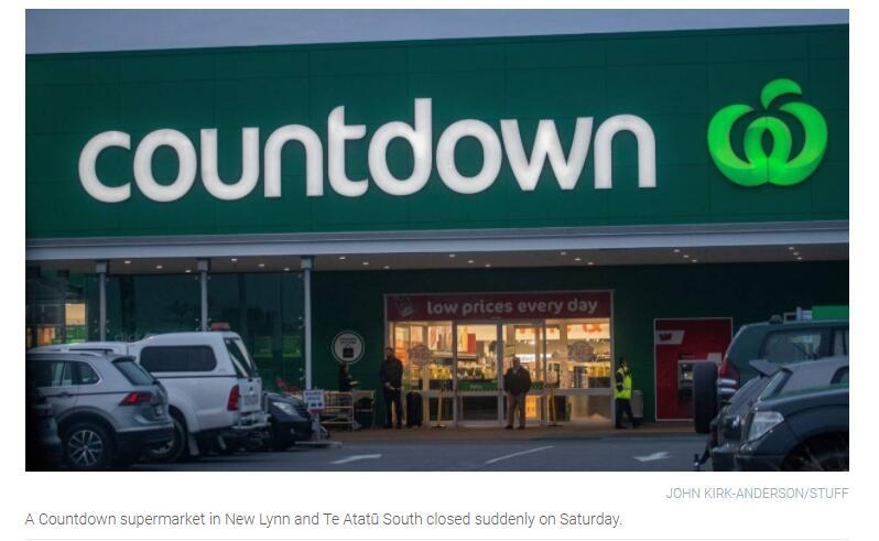 奥克兰两家超市紧急关闭 卫生部门提醒坐公交也或能传染